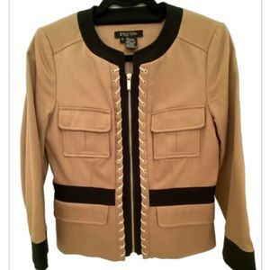 Etcetera Zip Up Women's Blazer with great detail